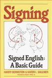 Signing, Harry Bornstein and Karen L. Saulnier, 0517561328