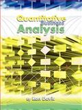 Quantitative Business Analysis, Davis, Ron, 1935551329