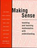 Making Sense : Teaching and Learning Mathematics with Understanding, Hiebert, James and Carpenter, Thomas P., 0435071327