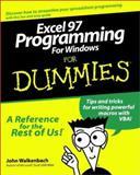 Excel 97 Programming for Windows for Dummies, John Walkenbach, 0764501321