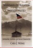 Boundaries of Obligation in American Politics 9780521871327