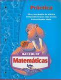 Harcourt Matemáticas Práctica, Harcourt School Publishers Staff, 0153411325