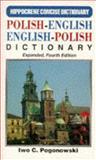 Polish-English - English-Polish Concise Dictionary, Iwo C. Pogonowski, 0781801338