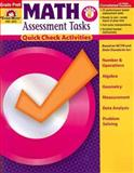 Math Assessment Tasks, Grades Pre-K, Evan-Moor, 1596731338