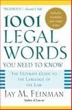 1001 Legal Words You Need to Know, , 0195181336