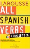 All Spanish Verbs from a to Z, , 2035331331