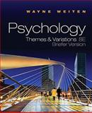 Psychology : Themes and Variations, Weiten, Wayne, 0495811335