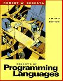 Concepts of Programming Languages, Sebesta, Robert W., 0805371338