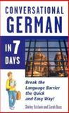 Conversational German in 7 Days, Baldwin, Douglas, 0844291331