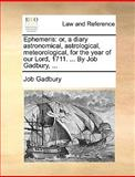 Ephemeris, Job Gadbury, 1170091342