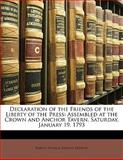 Declaration of the Friends of the Liberty of the Press, Baron Thomas Erskine Erskine, 1149671343