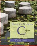 Problem Solving with C++, Savitch, Walter, 0321531345