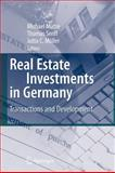 Real Estate Investments in Germany : Transactions and Development, , 3642091342