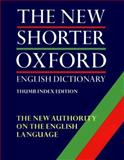 The New Shorter Oxford English Dictionary, , 019861134X
