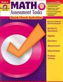 Math Assessment Tasks, Grade K, Evan-Moor, 1596731346