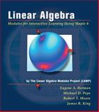 Linear Algebra : Modules for Interactive Learning Using Maple, Herman, Eugene A. and Linear Algebra Modules Project Staff, 0201441357