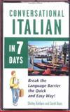 Conversational Italian in 7 Days, Baldwin, Shirley, 0844291358