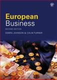 European Business, Turner, Colin and Johnson, Steve, 0415351359