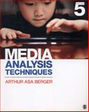 Media Analysis Techniques, Berger, Arthur Asa, 1452261350