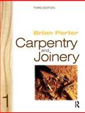 Carpentry and Joinery 1, Porter, Brian, 0750651350