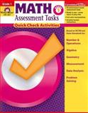 Math Assessment Tasks, Grade 1, Evan-Moor, 1596731354