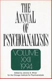 The Annual of Psychoanalysis, Jerome A. Winer, 0881631353