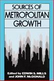 Sources of Metropolitan Growth 9780882851358