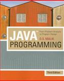 Java Programming : From Problem Analysis to Program Design, Malik, D. S., 1423901355
