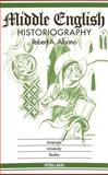 Middle English Historiography, Albano, Robert A., 0820421367