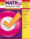 Math Assessment Tasks, Grade 2, Evan-Moor, 1596731362