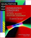 QRI and Intervention Strategies Bundle, Caldwell, JoAnne Schudt and Leslie, Lauren, 0205451365