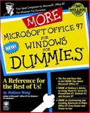 More Microsoft Office 97 for Windows for Dummies, Wang, Wallace, 0764501364