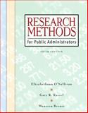Research Methods for Public Administrators, Berner, Maureen and Rassel, Gary R., 0321431375