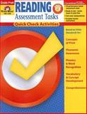 Reading Assessment Tasks Grades PreK-K, Evan-Moor, 1596731370