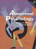 Abnormal Psychology, Oltmanns, Thomas F. and Emery, Robert E., 0130871370