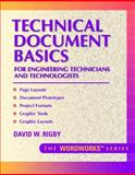 Technical Document Basics for Engineering Technicians and Technologists, Rigby, David W., 0134901371