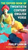 The Oxford Book of Twentieth Century English Verse, , 0198121377