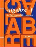 Algebra 1, John Saxon, 1565771370