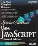 Special Edition Using JavaScript, Reynolds, Mark C. and Wooldridge, Andrew, 0789711389