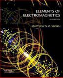 Elements of Electromagnetics, Sadiku, Matthew, 0199321388