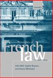 Principles of French Law, Bell, John and Boyron, Sophie, 0199541388