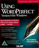 Using WordPerfect 6 for Windows 9781565291386