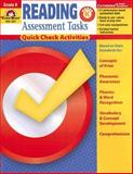 Reading Assessment Tasks Grade K, Evan-Moor, 1596731389