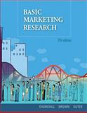 Basic Marketing Research (with Qualtrics Printed Access Card), Churchill, Gilbert A. and Brown, Tom J., 1439041393