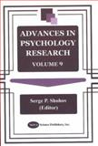 Advances in Psychology Research, , 1590331397