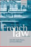Principles of French Law, Bell, John and Boyron, Sophie, 0199541396