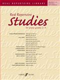 Real Repertoire Studies for Piano Grades 2-4, Staff, Alfred Publishing, 0571531393