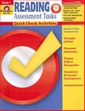 Reading Assessment Tasks Grade 1, Evan-Moor Staff, 1596731397