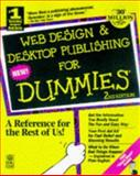 Web Design and Desktop Publishing for Dummies, Parker, Roger C., 0764501399