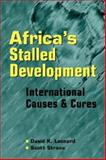 Africa's Stalled Development 9781588261403